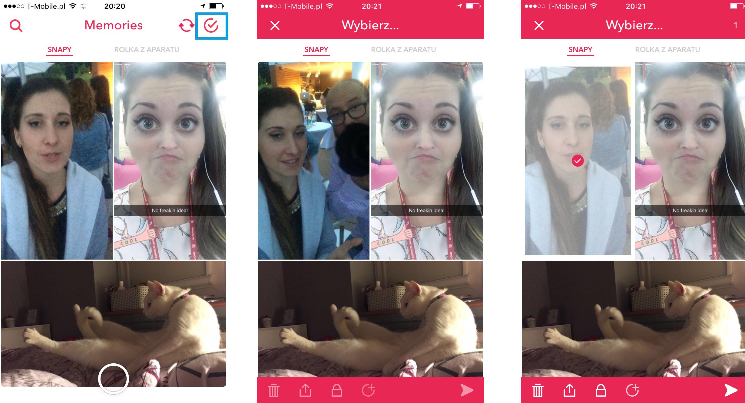 Snapchat Memories 2