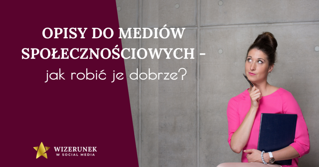 opis social media Anna-Maria Wiśniewska