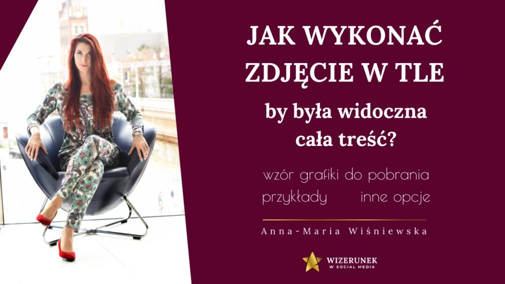 zdjęcie w tle Anna-Maria Wiśniewska