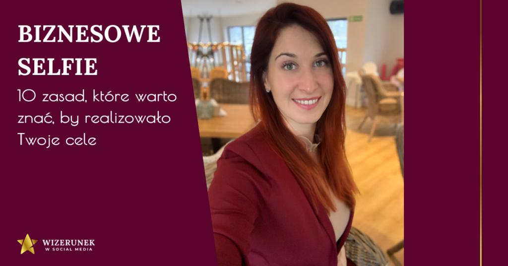 Jak robić selfie Anna-Maria Wiśniewska